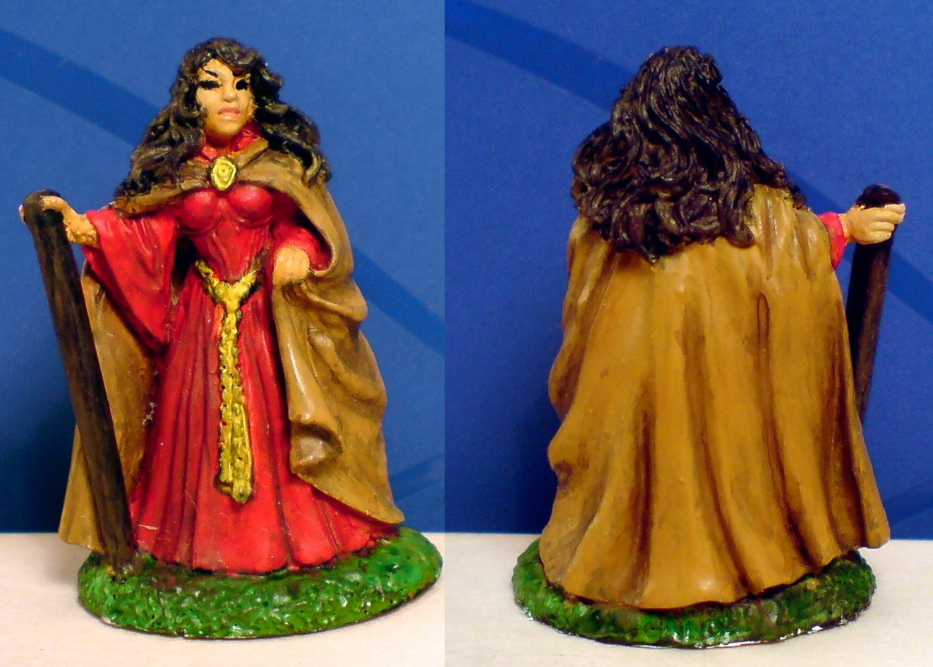'Fiona', remodeled Miniature XXX (28mm Scale, actual size xxx mm).