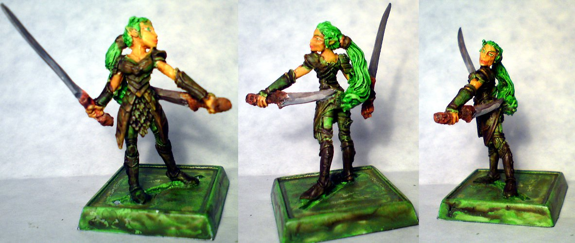 'Tahlia', remodeled Miniature XXXX (28mm Scale, actual size xxx mm).