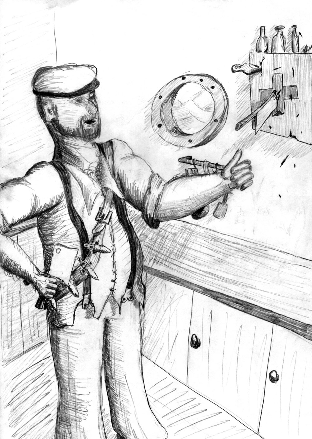 Shipscook for the short scenario Pirates of the Nexus e.V.